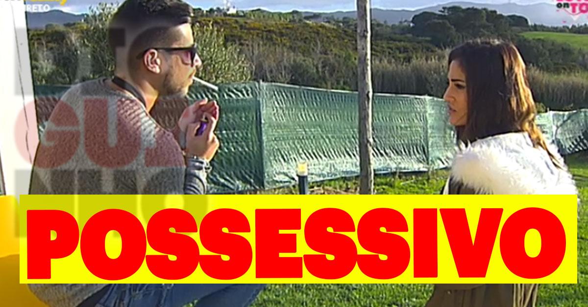 Photo of Daniel tem longa conversa com Sofia Buinho. Ele é possessivo com a ex-namorada