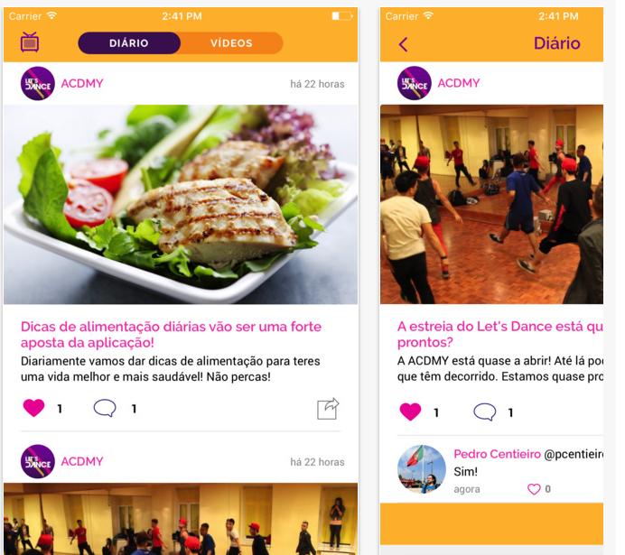 app Let´s Dance - Vamos Dançar
