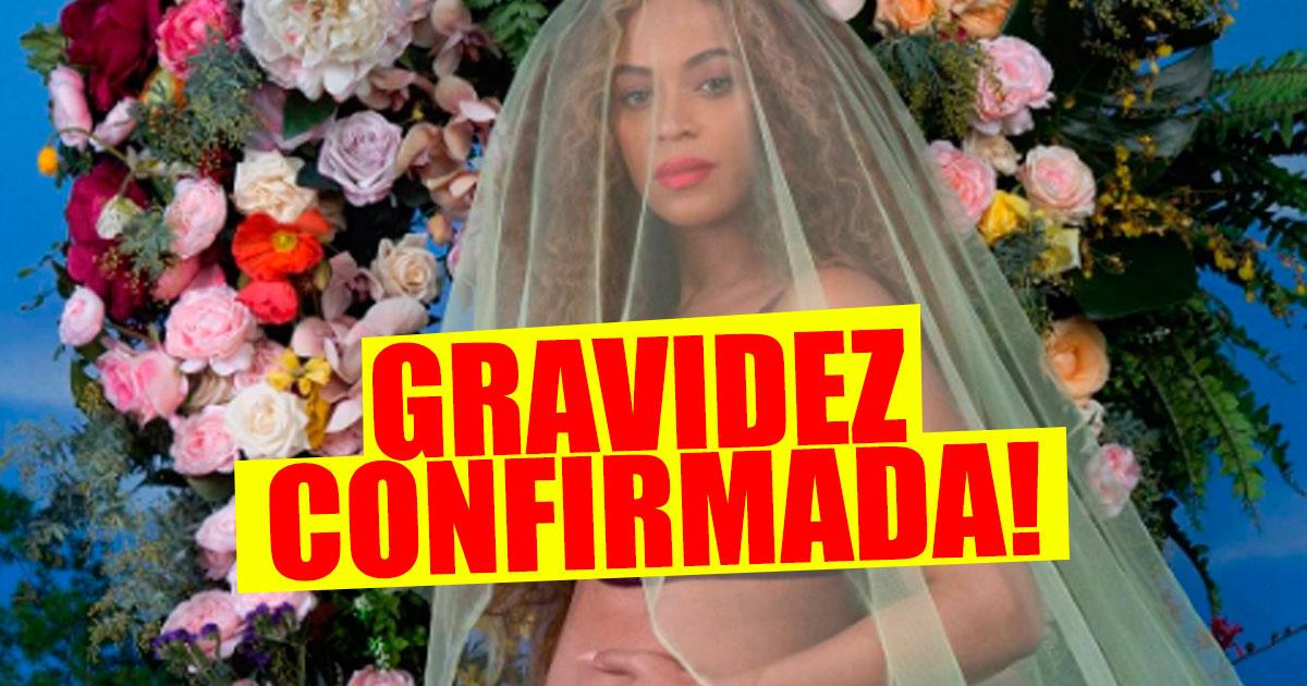 "Photo of Beyoncé confirma gravidez de GÉMEOS no Instagram ""Fomos abençoados"""