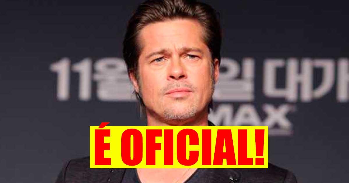 Photo of CONFIRMADO: Brad Pitt tem mesmo uma nova namorada