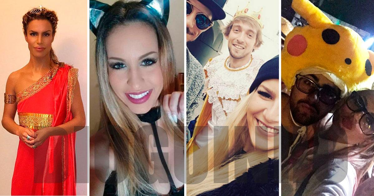 Photo of Os disfarces dos ex-concorrentes neste Carnaval