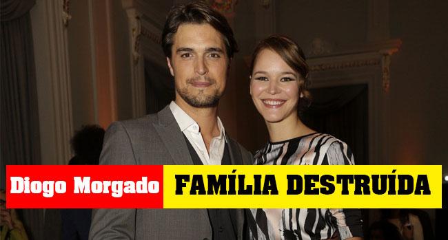 Photo of Diogo Morgado com família destruída depois dos beijos com Joana de Verona