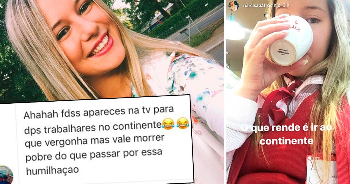 Photo of Narcisa criticada por trabalhar em hipermercado… mas responde!