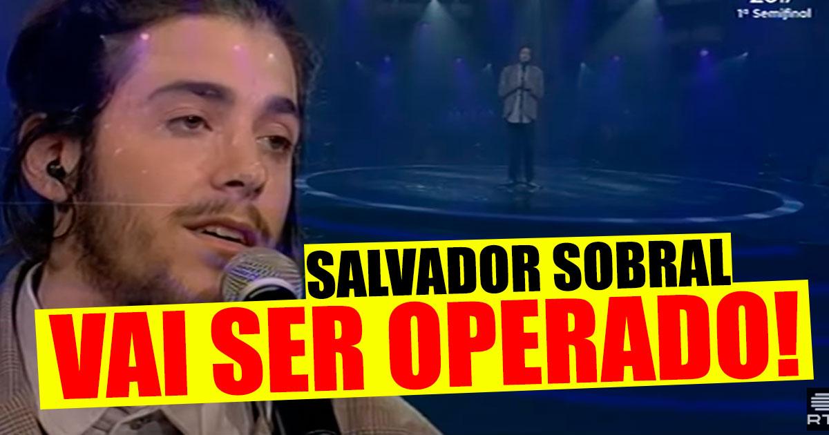 Photo of Salvador Sobral, finalista do Festival da Canção HOSPITALIZADO!