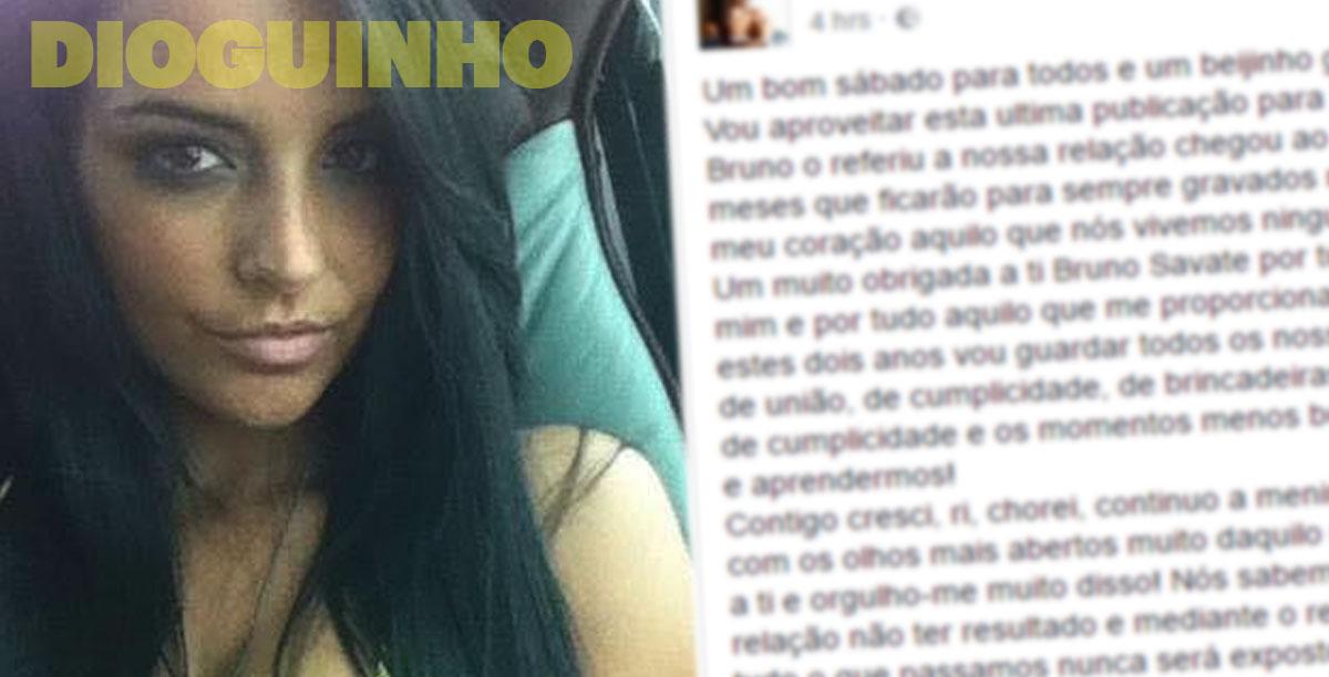 Photo of Elisabete Moutinho já reagiu ao fim do namoro com Bruno Savate
