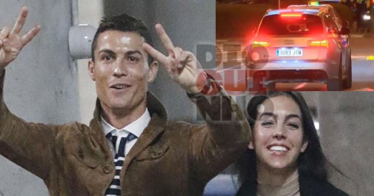 Photo of Cristiano Ronaldo e namorada passam sinal vermelho. São criticados