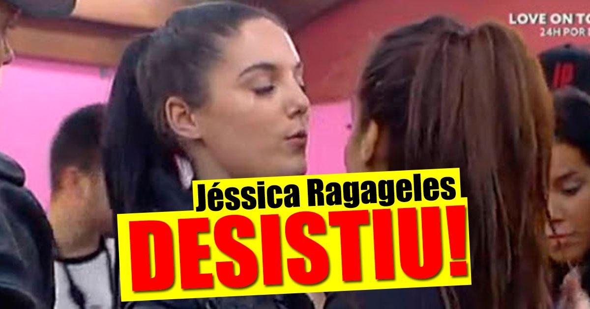 Photo of Jéssica Ragageles desistiu do Love On Top 4