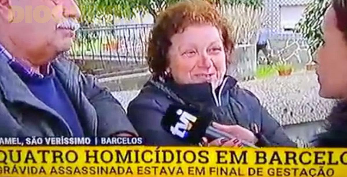 Photo of Jornalista da TVI fica chocada com declarações de populares onde foram 4 pessoas assassinadas