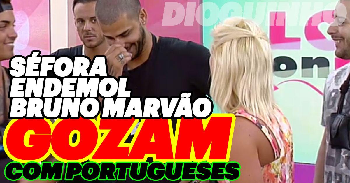 Photo of TUDO TANGA: Endemol, Marvão e Séfora gozam com Portugueses