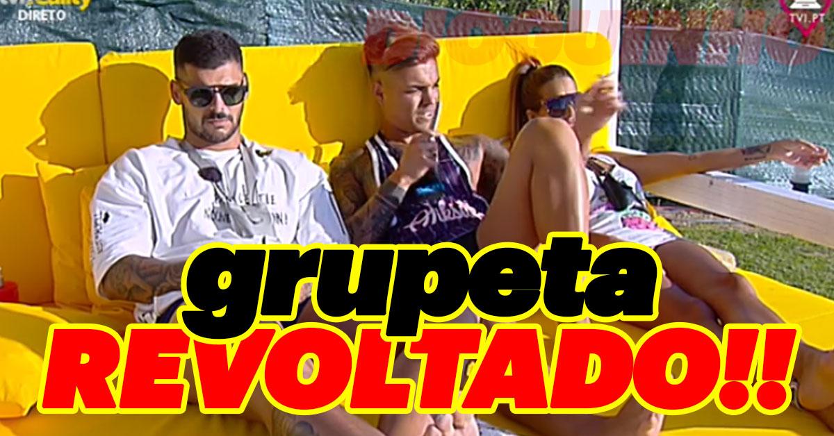 """Photo of Grupeta está revoltada com os colegas """"é casa do amor, não do jogo e intriga"""""""
