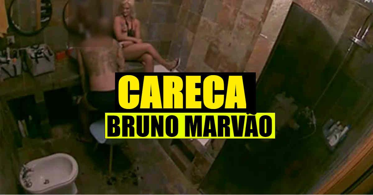 Photo of Bruno Marvão cortou o cabelo TODO. CARECA