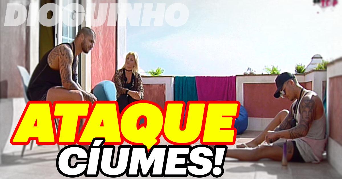 Photo of Bruno Marvão tem ataque de ciumes de Séfora e Girão. ACABOU TUDO