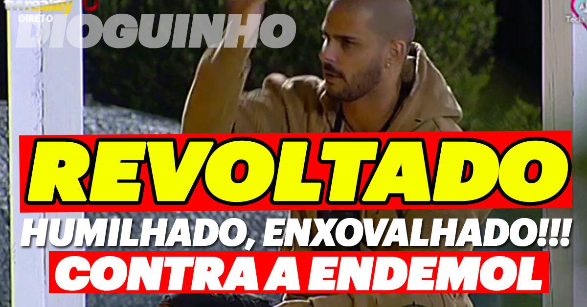 Photo of Bruno Marvão revoltado com Endemol. «Sou massacrado, humilhado e enxovalhado»