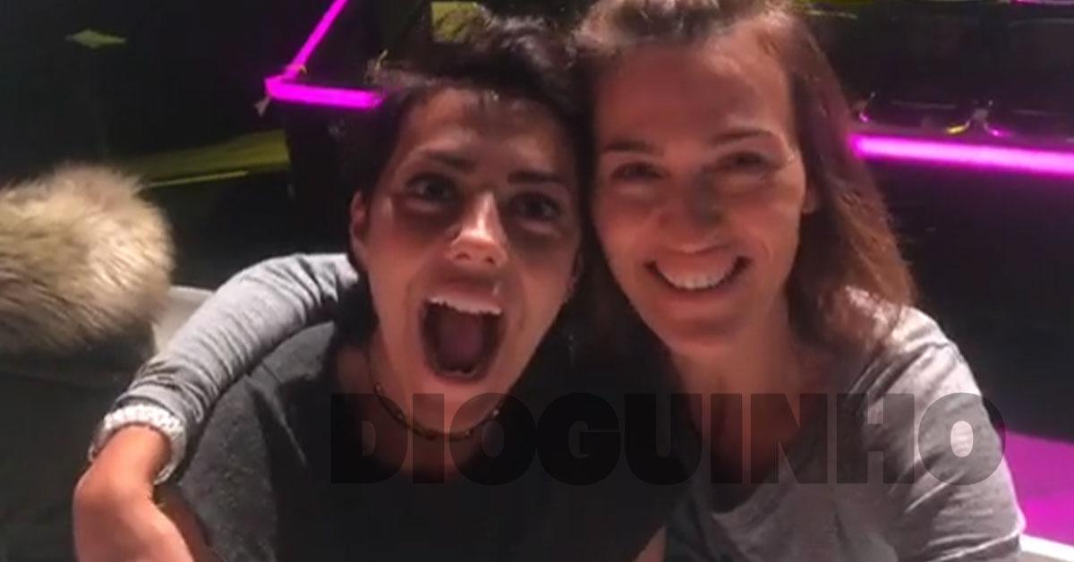 Photo of Sofia Ribeiro e Fátima Lopes fazem 'live' bem divertidas… e sem make up