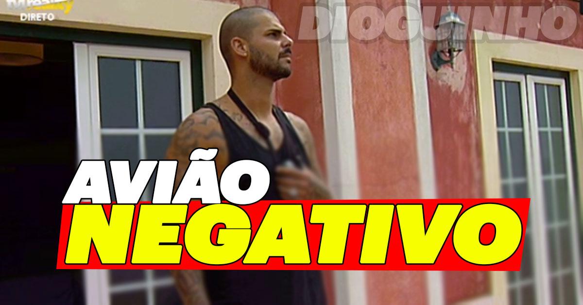 Photo of Bruno Marvão recebe avião negativo dos próprios fãs