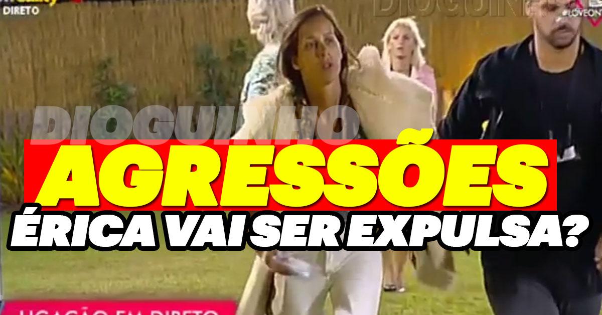 Photo of Érica Silva passou-se e agrediu Bernardo Girão