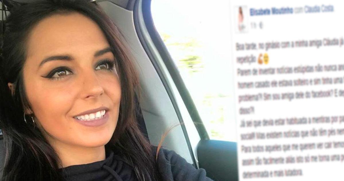 Photo of Elisabete Moutinho reage às noticias. Está DANADA