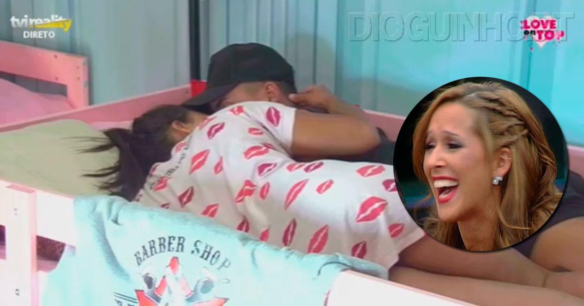 Photo of Cláudia e Girão já se beijam 'apaixonadamente'