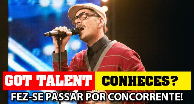 Photo of José Silva foi ao Got Talent… mas a cara dele não é estranha!