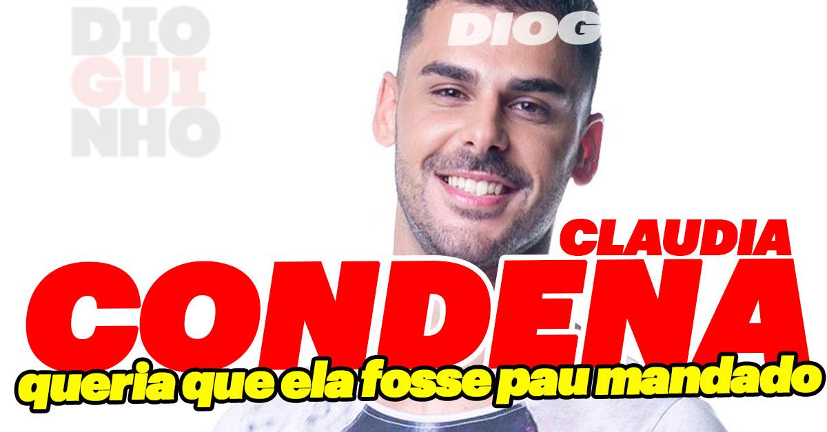 Photo of Bruno Marvão condena Cláudia porque deixou de ser cadelinha