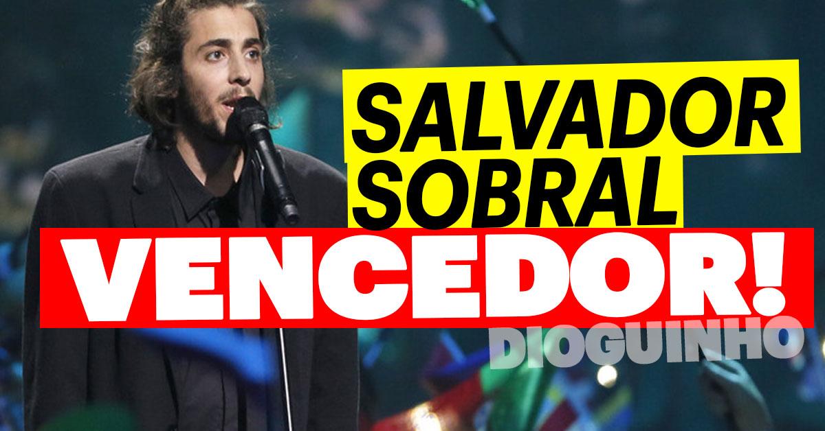 Photo of Salvador Sobral vence Festival da Eurovisão 2017