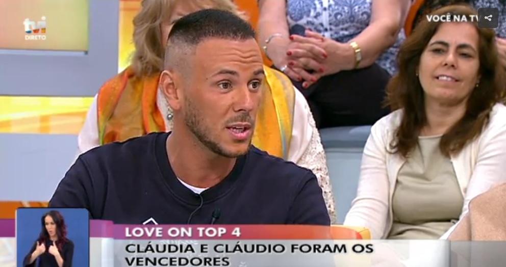 Photo of Cláudio Coelho justifica a sua escolha. Carolina Roque