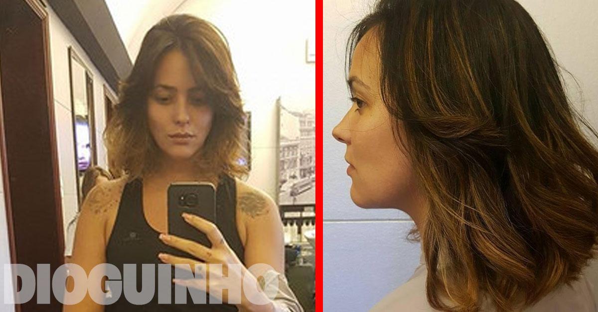 Photo of Marta Cruz faz nova tatuagem nas costas… GIGANTE