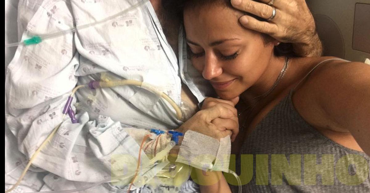 Photo of Sofia Ribeiro revoltada com as notícias acerca da doença do pai