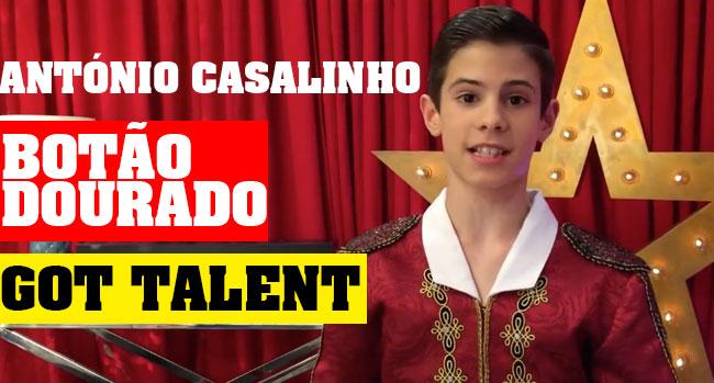 Photo of António Casalinho é botão dourado na primeira gala de Got Talent