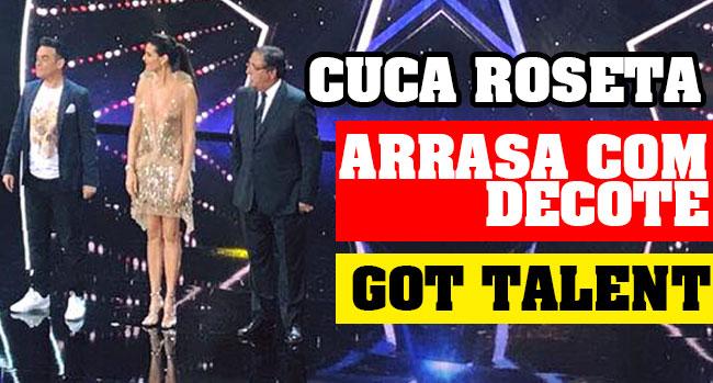 Photo of Cuca Roseta arrasa com decote na estreia das galas do Got Talent