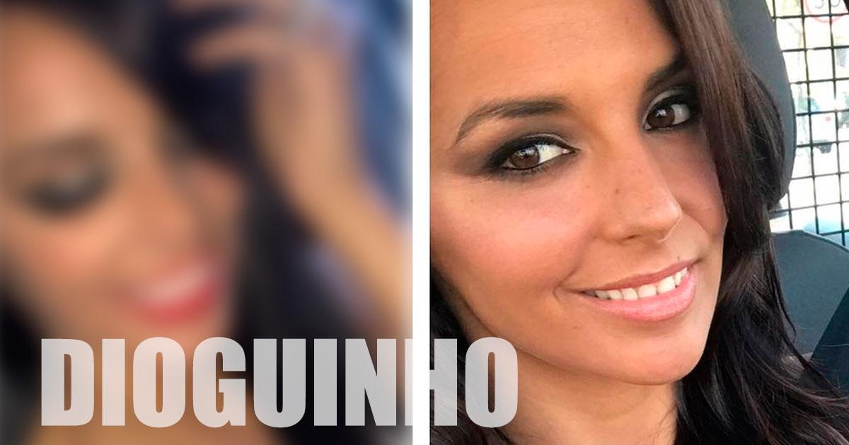 """Photo of Elisabete Moutinho fez intervenção estética """"Encontrem as diferenças"""""""