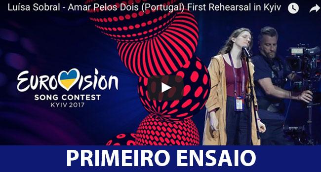 Photo of Luísa Sobral arrasa no primeiro ensaio da Eurovisão