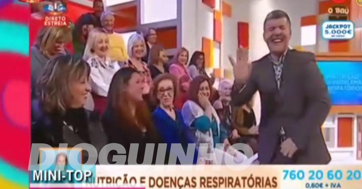 Photo of Cláudio Ramos recorda erros de apresentadores portugueses (vídeo)