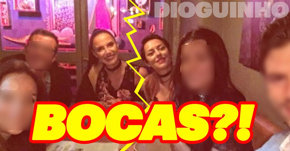 Photo of Iva Domingues e Sofia Ribeiro zangadas. Trocam bocas nas redes sociais?!