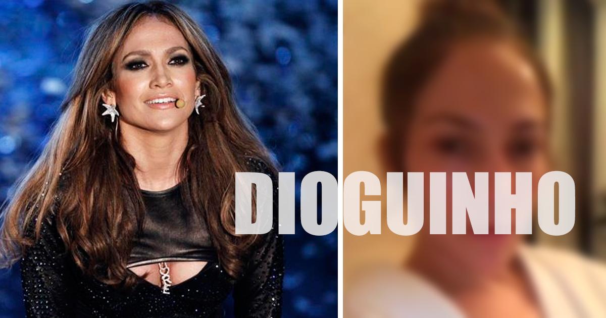 Photo of Jennifer Lopez sem maquilhagem… IRRECONHECÍVEL?