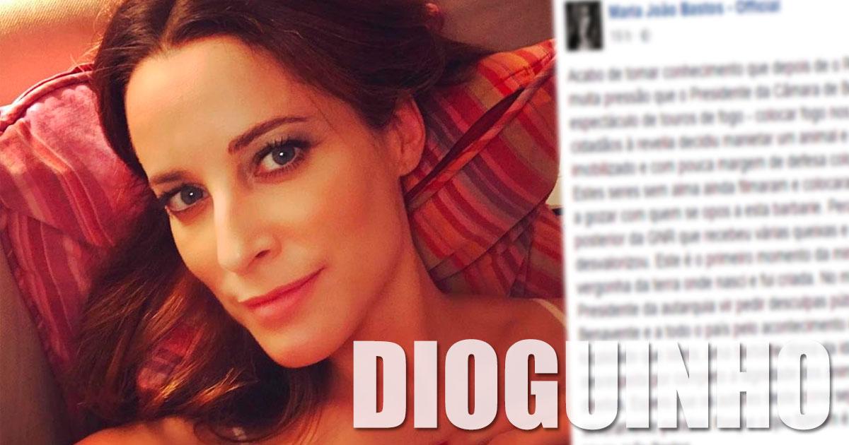 """Photo of Maria João Bastos está revoltada """"O que fizeram é crime"""""""