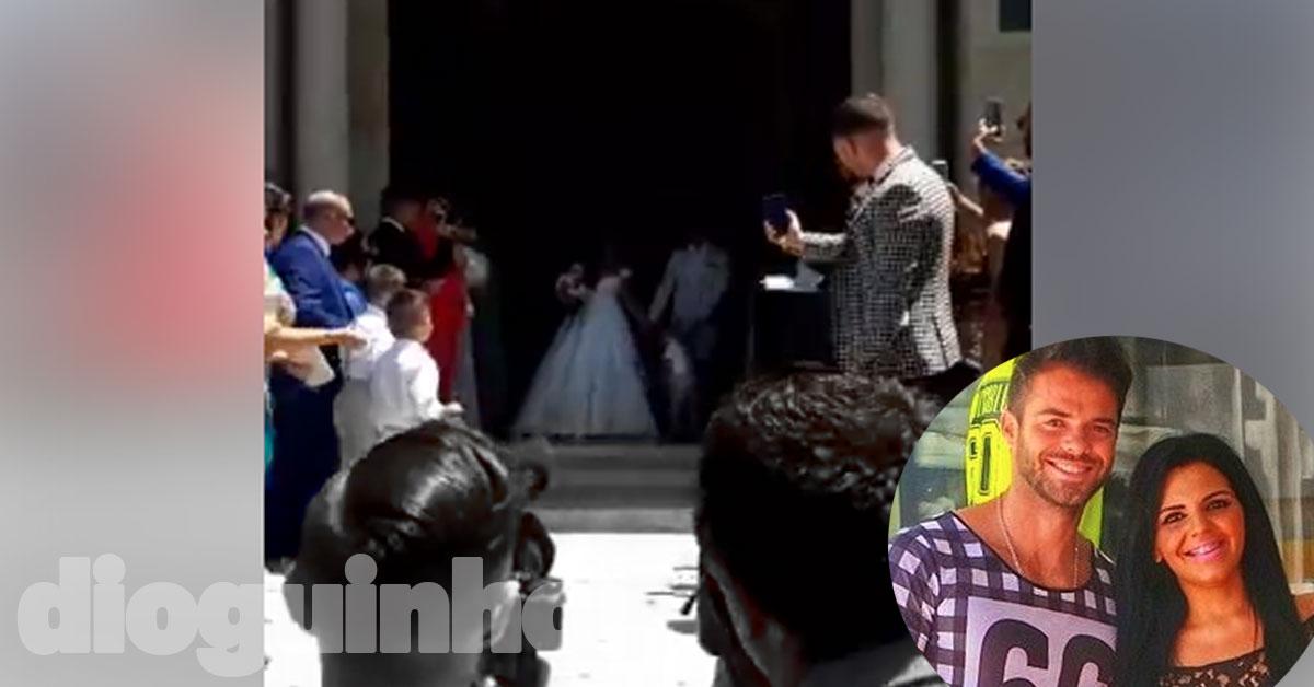 Photo of Tatiana Magalhães e Rúben Boa Nova já estão casados! As primeiras imagens