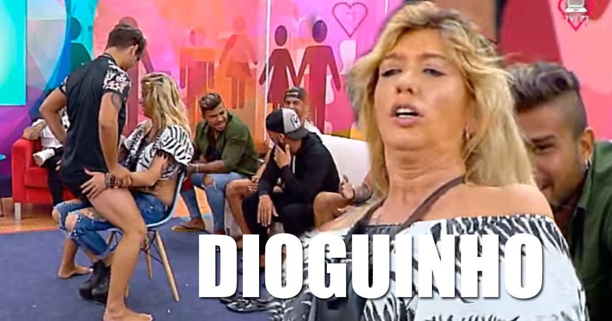Photo of Maria Leal escolheu ex-namorado Tiago Ginga para um STRIP
