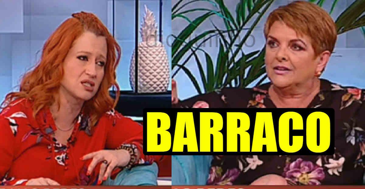 Photo of Joana Latino e Luísa Castel-Branco discutem em directo na SIC Caras