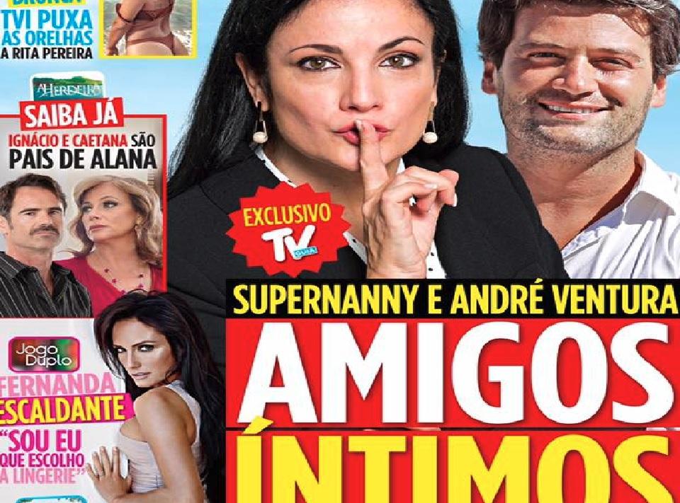 Photo of Supernanny e André Ventura são 'amigos especiais'