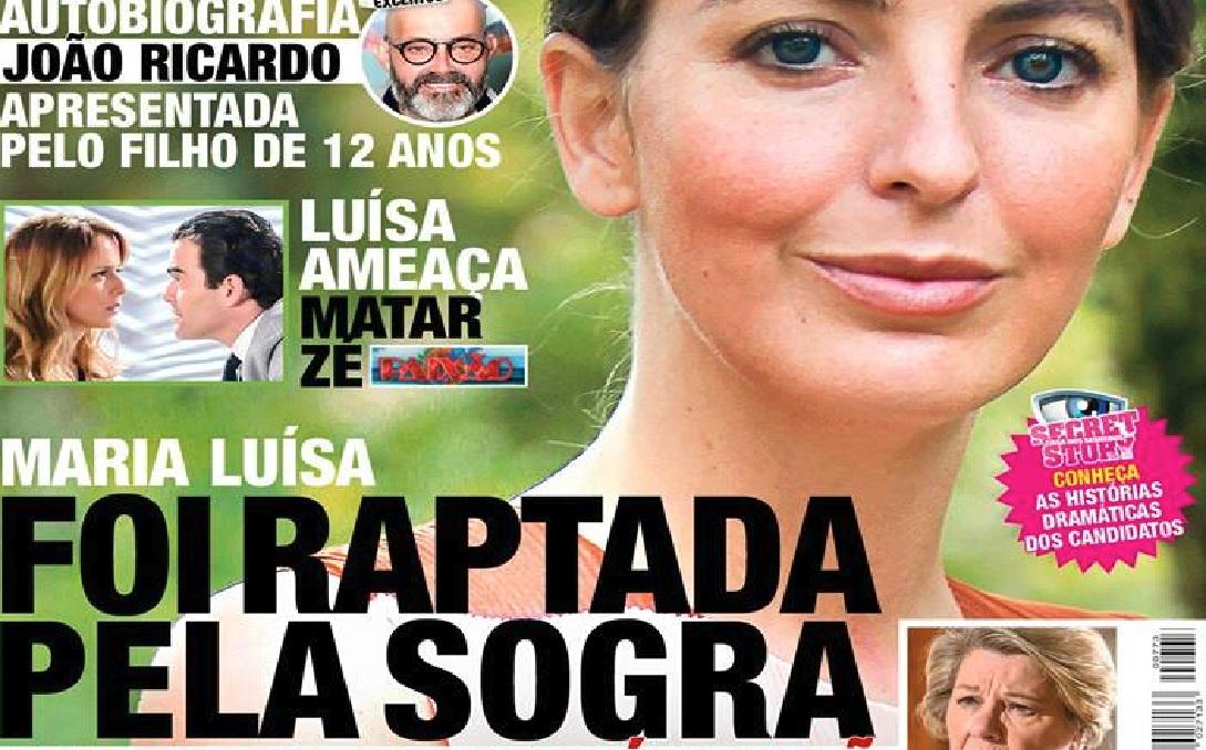 Photo of «Maria Luísa» foi raptada pela sogra que é a vilã