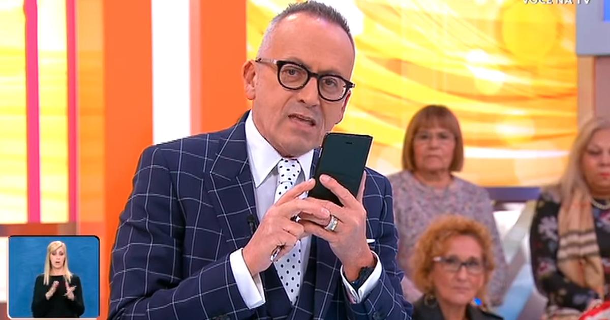 Photo of Manuel Luís Goucha a apresentar o «Jornal das 8»?