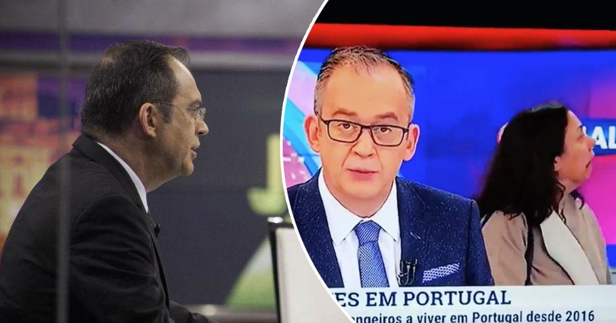 Photo of Mais um momento insólito na TVI… mulher perdida no Jornal das 8