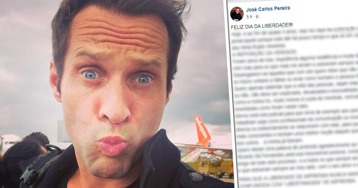 Photo of Correio da Manhã pede «sinceras desculpas» a José Carlos Pereira. Ele já reagiu