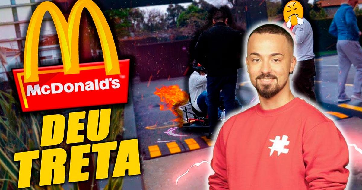 Photo of Tiagovski do «Biggest Deal» foi expulso do McDonalds