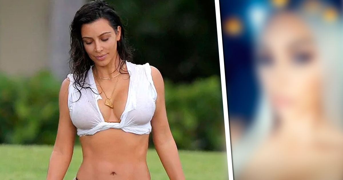 "Photo of Kim Kardashian mudou de look: ""É o visual favorito do Kanye"""