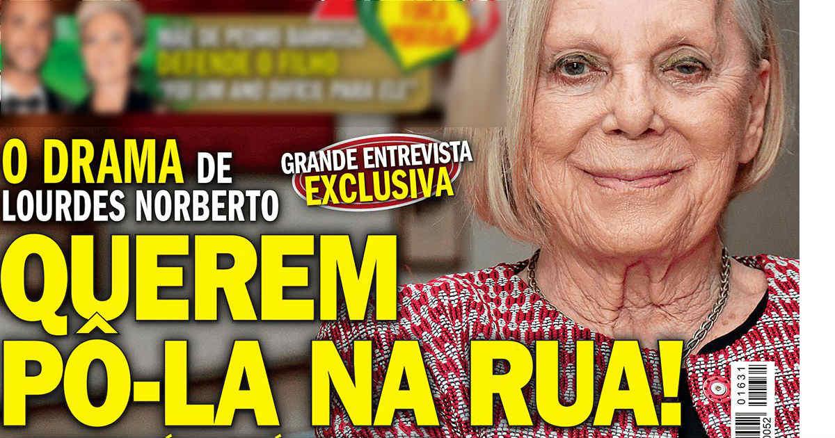 Photo of Atriz Lourdes Norberto está a ser expulsa da casa