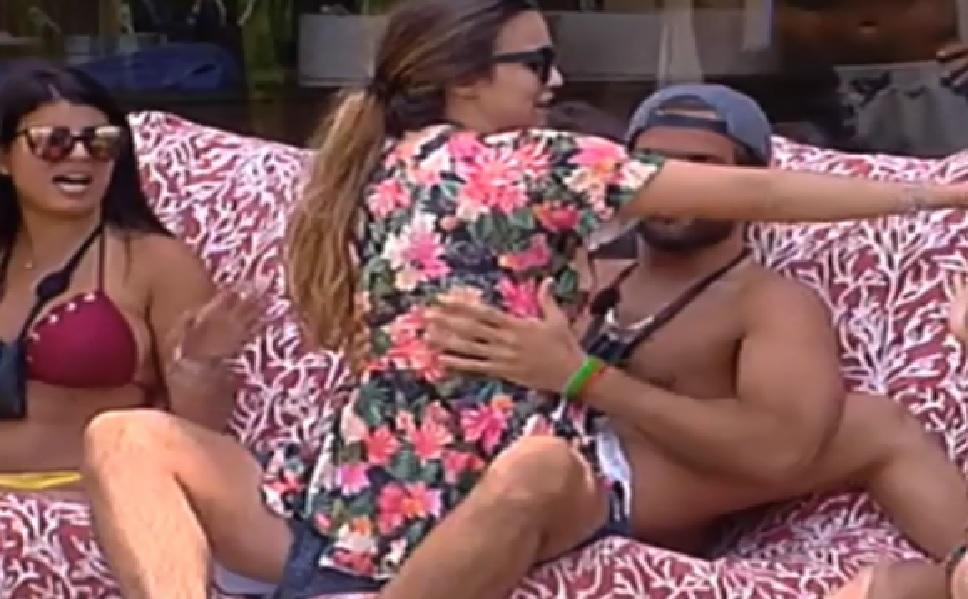 Photo of Diogo Marcelino não respeita a namorada… a roçar-se à Débora