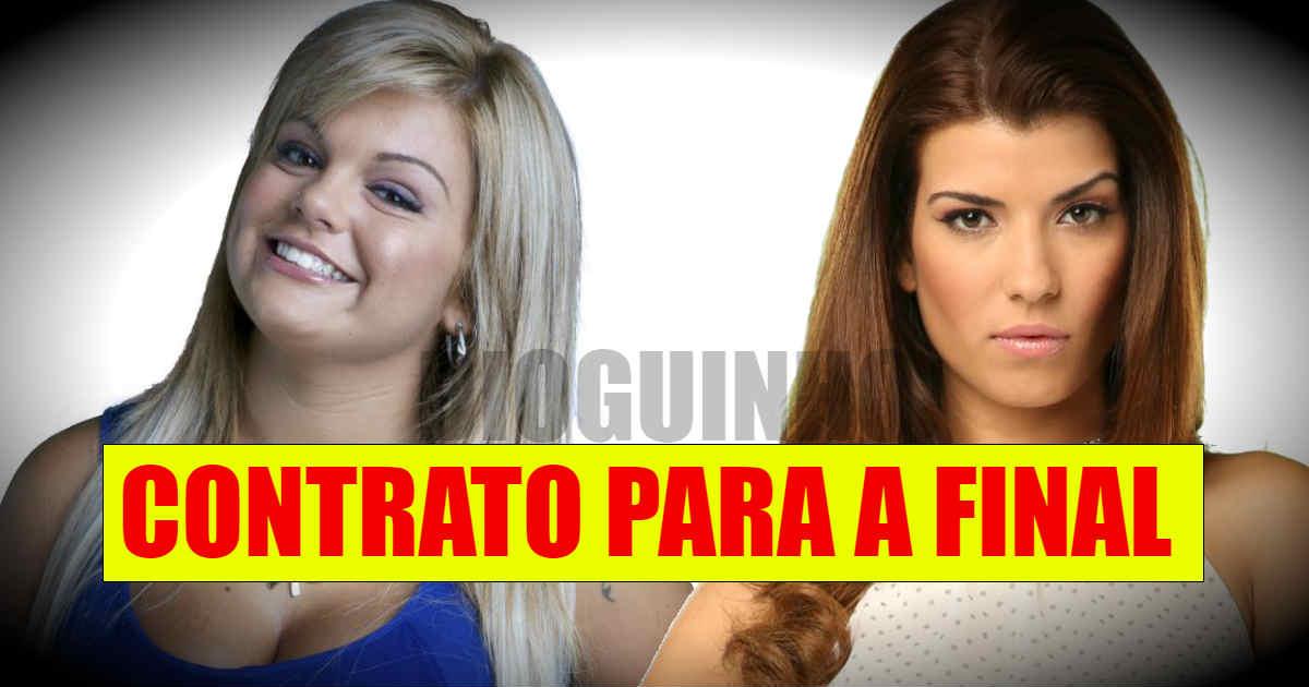 Photo of Sofia e Fanny com contrato especial. Final GARANTIDA e telefonemas