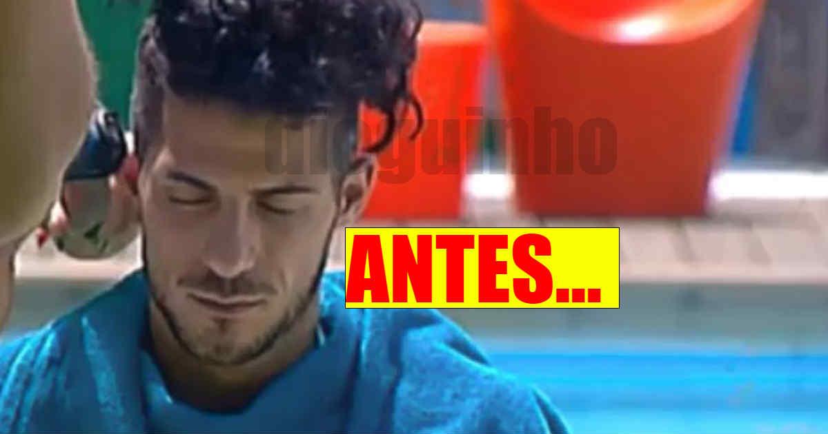 Photo of Cláudio Alegre ficou CARECA